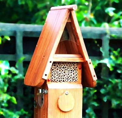 Insektenhotels: Ein JA zum Schutz von Insekten